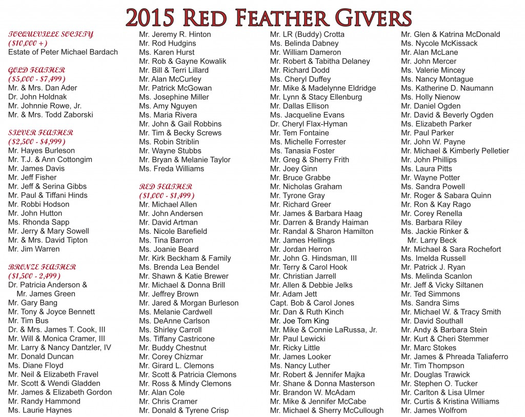 2013 Red Feather Dinner Program-2