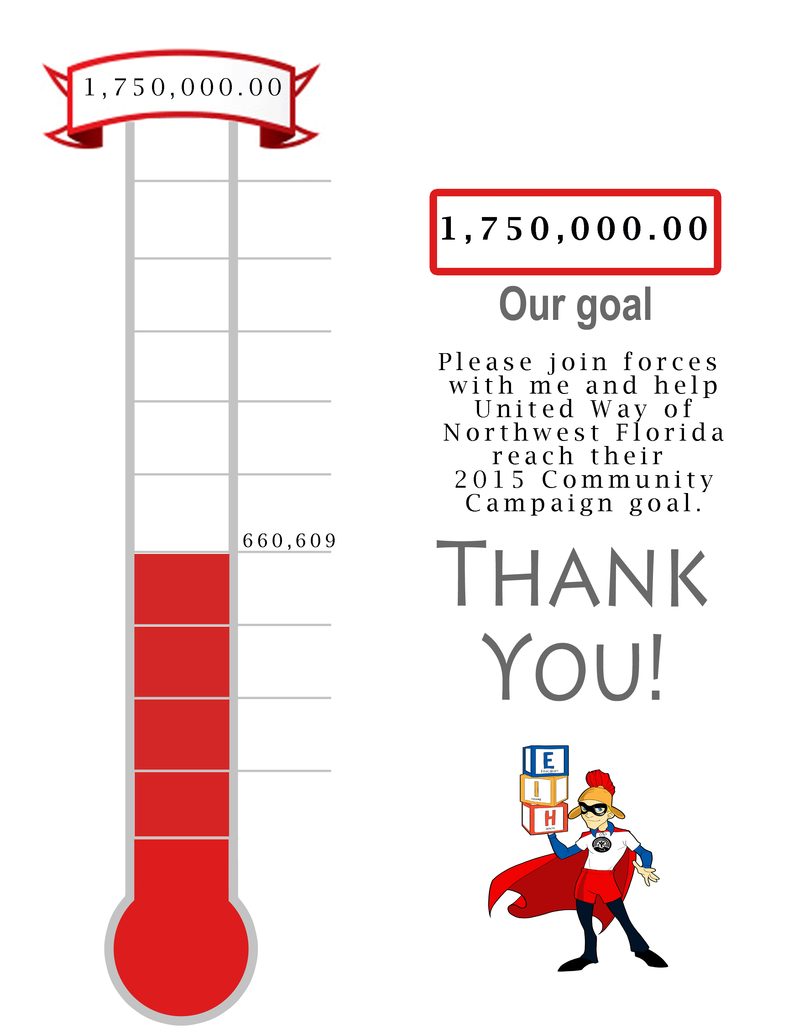 2015 Campaign Goal 1,750,000.00